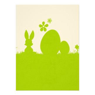 Carte Pâques lapin de Pâques oeuf de Pâques Invitations Personnalisées
