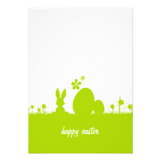 Carte Pâques lapin de Pâques oeuf de Pâques Bristols Personnalisés