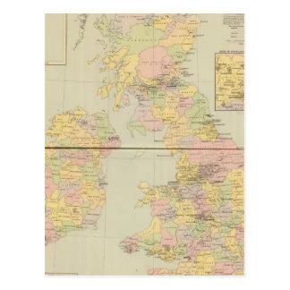 Carte parlementaire, îles britanniques