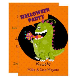Carte Partie de LolliMonster Halloween