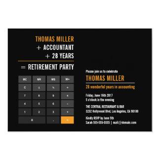 Carte Partie de retraite de calculatrice de finances