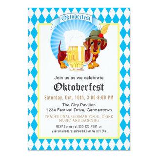 Carte Partie et célébration d'Oktoberfest