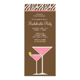 Carte Partie rose de Martini Bachelorette