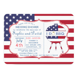 Carte Partie unique de drapeau des Etats-Unis 4 juillet