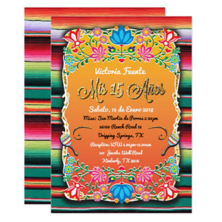 Carte Parties scintillantes mexicaines d'or de partie de