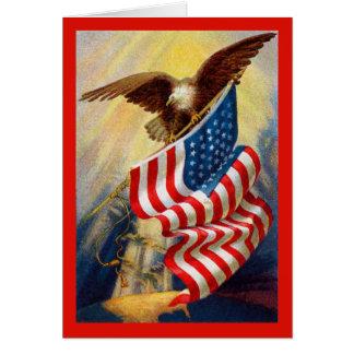 Carte patriotique d'Eagle