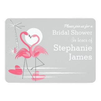 Carte Paysage nuptiale d'invitation de douche d'amour de