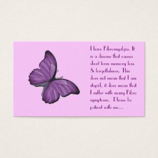 Carte personnelle de fibromyalgie
