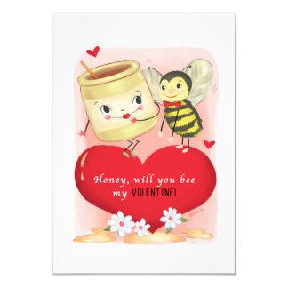 Carte Petit cru traditionnel Valentine de miel et