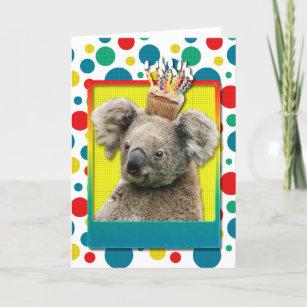 Cartes Heureux Koala Cadeaux Danniversaire Zazzlefr