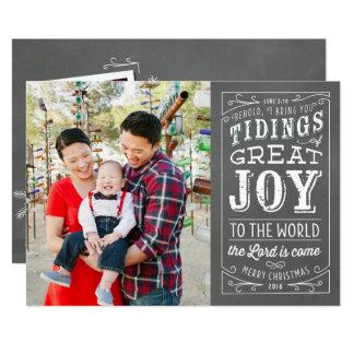 Carte photo chrétien 2016 de vacances de tableau