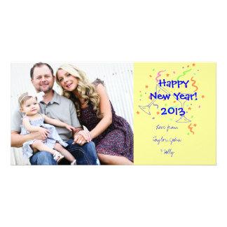 Carte photo de bonne année cartes avec photo