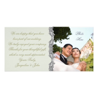 Carte photo de ~ de mariage
