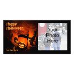 Carte photo de Halloween Photocarte Personnalisée