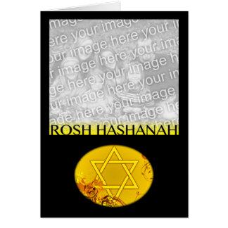 carte photo de hashanah de rosh
