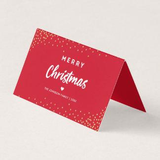 Carte photo de Joyeux Noël