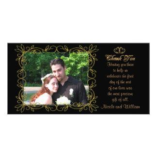 Carte photo de Merci de mariage Photocartes