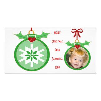 Carte photo de Noël des enfants drôles faits sur c Photocartes Personnalisées