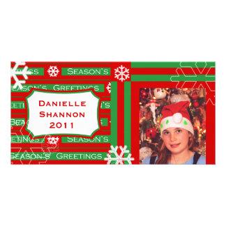 Carte photo de Noël des enfants faits sur commande Cartes De Vœux Avec Photo
