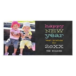 Carte photo de vacances de la bonne année | de photocartes personnalisées