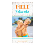 Carte photo de vacances de Mele Kalikimaka Cartes De Vœux Avec Photo