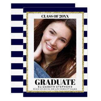 Carte Photo élégante d'obtention du diplôme TOUT