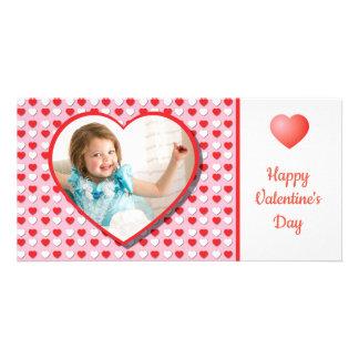 Carte photo fait sur commande de Saint-Valentin de