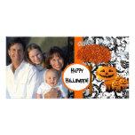 Carte photo heureux de Halloween Modèle Pour Photocarte