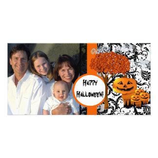 Carte photo heureux de Halloween