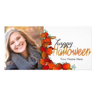 Carte photo heureux de Halloween | de correction