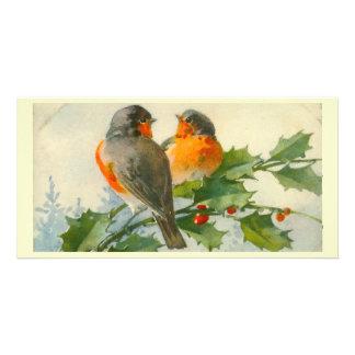 Carte photo vintage d impression de carte postale modèle pour photocarte