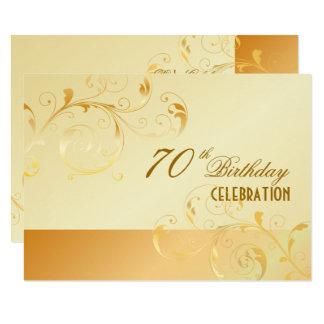 Carte PixDezines 70 anniversaires/événement en filigrane