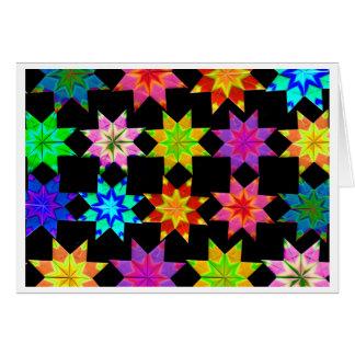 Carte pliée par édredon d'origami