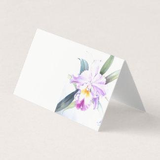 Carte pliée par pli horizontal de tente d'iris