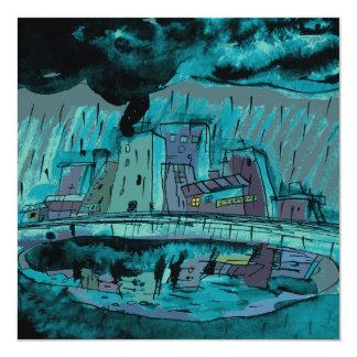 Carte Pluie d'automne