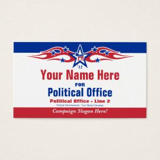 Carte politique de campagne électorale - Démocrate