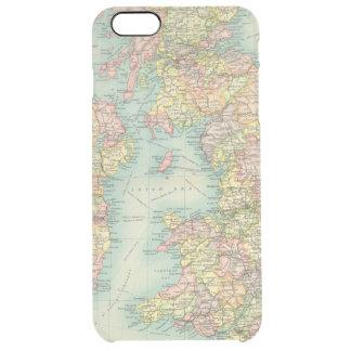 Carte politique d'îles britanniques coque iPhone 6 plus