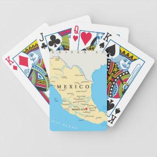 Carte politique du Mexique Jeu De Poker