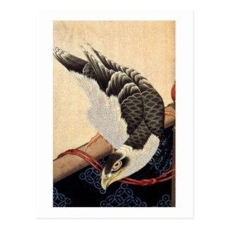 Carte Postale 北斎の鷹, faucon de Hokusai de 北斎, Hokusai