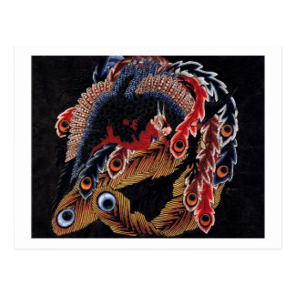 Carte Postale 鳳凰図, Chinois Phoenix, Hokusai, art de 北斎