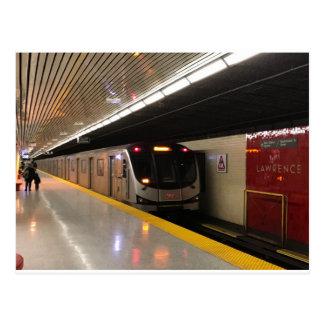 Carte postale 002 de Toronto de transit - Lawrence