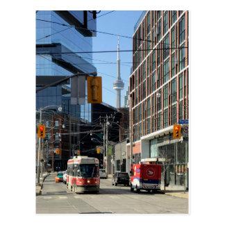 Carte postale 003 de Toronto de transit - le Roi
