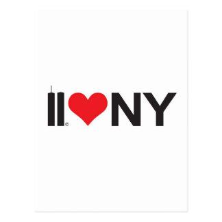 Carte Postale 11 septembre amour NY de Tours jumelles