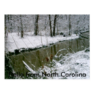 Carte Postale 124, bonjour de la Caroline du Nord