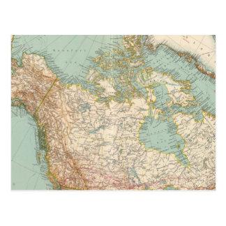 Carte Postale 12526 Canada, Alaska, Groenland