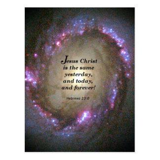Carte Postale 13:8 d'Hébreux