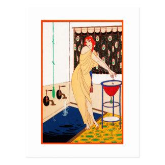 Carte postale 13 d'art déco