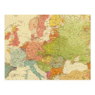 Carte Postale 1516 ethnographiques européens
