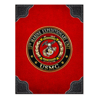 Carte Postale 15ème Unité expéditionnaire marine (15ème MEU)
