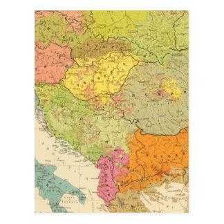 Carte Postale 16 un Européen ethnographique